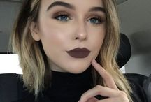 Maquillage / Make up inspirations • Lippies • Eye make up