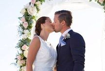 State of Grace- Elegance & Beauty / Simply elegance and soft pin accents brought pretty romance to Teresia & Christoffer