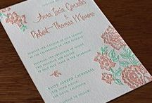 {invitation design} fiesta / Celebrate a true fusion wedding with our Fiesta letterpress design. Inspired by classic Mexican patterns from vintage street art and ornate fabrics, the look transcends cultures and speaks to couples all over the world. Mint greens and coral pinks are just a few of the incredible color pairing you can make for this floral wedding stationery.