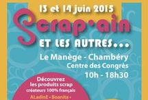 Scrap'ain 2015 / salon de scrap