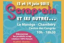 Scrap'ain 2015 / salon de scrap