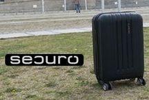 SECURO Reisekoffer / Die brandneue Koffermarke SECURO