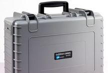 Outdoor Cases / Die staub- und wasserdichten #Outdoorkoffer für den sicheren Transport: B&W Outdoor Cases.