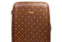 Beige & braune Koffer
