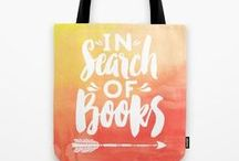 Best Bookish Products / A board for the bookish products that book lovers will LOVE!
