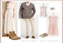 What to wear for portraits / by Anna Maria