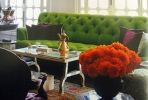 """{ home } / I am a """"wannabe"""" interior designer & love making home comfortable & beautiful for my family / by sharon"""