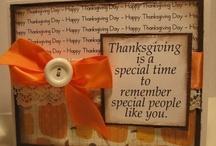 Cards - Thanksgiving / by Jill Miller