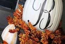 INSPIRATION- Autumn Decor