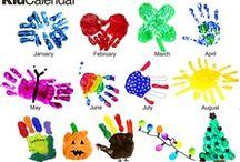 Kids: Fun Crafts- Hands/Feet / by Anissa (Nieveen) Klapperich