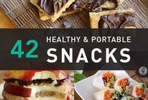 Healthy snacks / by Kelley Pelletier