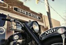 The Garage / http://www.ironandresin.com/locations