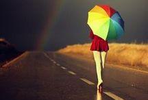 Somewhere over the rainbow / Rainbows...