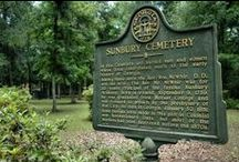 Historic Cemeteries / Liberty County's cemeteries are where you can find numerous tombstones of the first residents in our Coastal Georgia county.