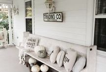 The Farmhouse Style / Farmhouse Style Home Decor