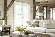 Cozy Living Rooms / by Kelsey Bohl