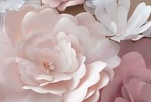 Paper Flowers / tutorials on making paper flowers and inspiration on how to decorate with flowers / by A. Williams