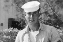 Dad's Navy / Dad served as a SeaBee in the US Navy. Korean War. I love you Dad-Pop.....A Gentleman, Father, Grand Father and Great Grand Pop.  Mom is a lucky woman :) / by Sissy Jo