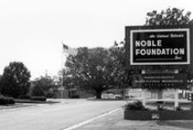 History / The Samuel Roberts Noble Foundation is an independent, nonprofit institute headquartered in Ardmore, Okla. Founded in 1945, the Noble Foundation conducts direct operations, including assisting farmers and ranchers, and conducting plant science research and agricultural programs, to enhance agricultural productivity regionally, nationally and internationally.