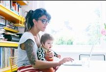 Being a WAHM / a collection of articles and tips on being a work-at-home mom #wahm