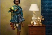 African Fahion / We African, we love fashion so much that we can create anything from nothing. / by Jackie-Oyee Keukelaar