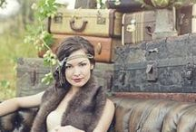 The Great Gatsby Inspired Photo Shoot / Inspired by The Great Gatsby