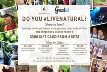 #LiveNatural / Do you #LiveNatural? Show us how! 