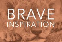 {Be Brave} with Bravespiration  / Browse our collection of our quotes for some bravespiration! Our mission is to help people be brave during hard times. $10 from every item purchased on our website at www.bravelets.com is donated to the cause. Wear a Bravelets item of jewelry proudly for yourself or a loved one and be brave! www.bravelets.com  / by Bravelets