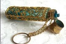 Chatelaine & Pendant Scent Bottles