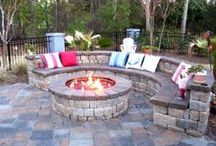 Outdoor space / Ideas for front yards and back yards / by InspiredUK