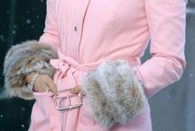 The pink coat!