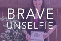 {Be Brave} with an #Unselfie / Show us what cause you wear your Bravelet for and raise awareness!  / by Bravelets