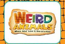 VBS-Weird Animals / ideas for decorations, crafts and snacks