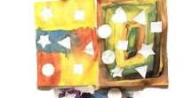 Shapes / Kids Activity ideas geared towards toddlers and preschool age children to teach them Shapes in a fun playful way. Learning shapes is an early math skill.