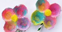Spring / Spring themed activities for toddlers preschoolers and elementary aged kids to welcome them into the new season full of color and bloom