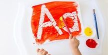 Letter A Activities / Toddler and Preschool letter A activities and crafts that will help teach our kids the letter, its sound and how it is written
