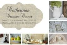 """My Catherina's Creative Corner Blog & IG account / Newest creations at my blog  Catherinascreativecorner.blogspot.com ~""""Make your home beautiful no matter where you live"""". Blog spotted by Studio 5"""