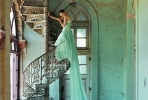 Tiffany Blue  / The new moon hangs like an ivory bugle In the naked frosty blue.- Philip Edward Thomas