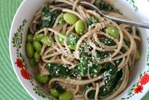 Meatless main dishes / by Stephanie