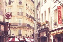 Parisian Collections / I'm massively obsessed with France. / by Sarah Segwape