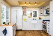 Kitchens / Gorgeous kitchens that will become your favorite room of the house...
