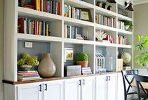 Bookshelves & Storage / Elegant ways to store your belongings...