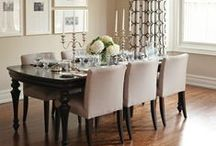 Dining Rooms / Spaces to enjoy a cup or tea or a family meal...
