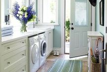 Laundry Rooms / Elegant and functional laundry spaces...