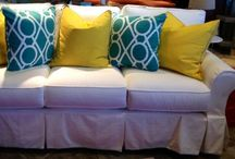 """Spring"" into Miskellys / Check out some of our spring 2014 new arrivals at Miskelly Furniture in Pearl, MS. We have a wide variety of indoor & outdoor furniture that will bring trendy spring colors and patterns to your home!"
