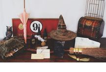 H P / Harry Potter Decorations and Inspirations that I have made follow me on Instagram @design.by.aimee / by Aimee Wright