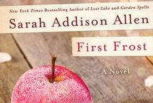 """Garden Party / To celebrate the return of the Waverleys in FIRST FROST (coming January 20th), Sarah Addison Allen, St. Martin's Press, and Hey Wedding Lady will be selecting one """"Garden Party"""" inspired Pinterest board to win a Garden Party gift basket and copies of FIRST FROST!"""