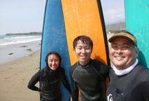 Santa Barbara Surf Lessons / Learning to surf in Santa Barbara