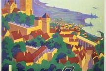 Vintage posters Switzerland