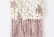 Weave Style / weaving, yarn, weaving style, how to weave, DIY weaving, knits, knitting and weaving, crafts, weave craft, crafting with knits, crafting with yarn,